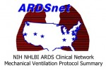 Lower Tidal Volume / Higher PEEP Reference Card (ArdsNet)