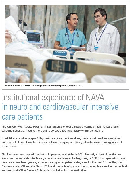 Institutional experience of NAVA in neuro and cardiovascular intensive care patients