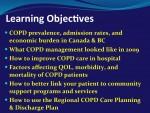 Regional COPD Pre-printed Orders & Discharge Plan
