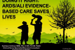 Doing it Right: ARDS/ALI Evidence-based Care Saves Lives