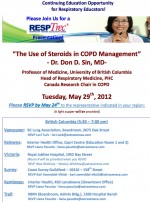"""The Use of Steroids in COPD Management"" – Dr. Don D. Sin, MD"