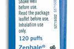 Type II recall of specific lots of Zenhale on the market.